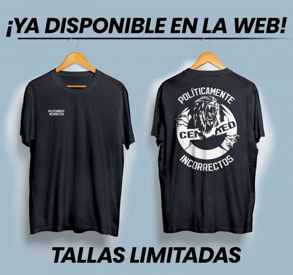 camiseta incorrectamente político