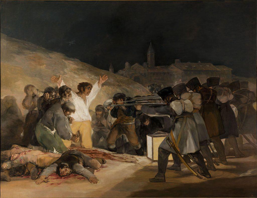 fusilamientos 3 de mayo